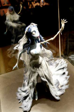 La �novia cad�ver� de Tim Burton se despide hoy de Vigo