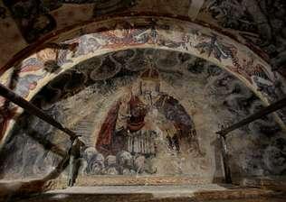 Descubren los frescos románicos más antiguos de Galicia