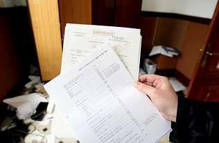 Los papeles clasificados de la Armada permanecieron abandonados 10 años