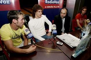 Radio Voz premia a Coloccini y a Filipe como los mejores del año