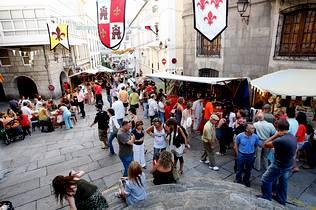 Feria medieval A Coruña