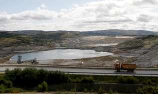 El futuro lago recibirá unos 145 millones de litros al año procedentes del Eume y otros afluentes | JOSÉ PARDO