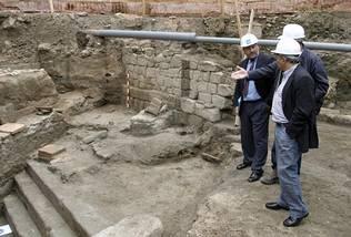 Historia y mitos descubren en ourense la primera piscina for Piscinas en ourense
