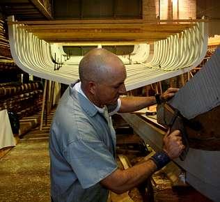 Los carpinteros de ribera aspiran a conseguir una denominaci�n de origen para los barcos de madera
