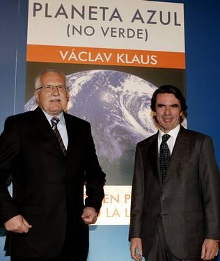 Aznar critica que se dediquen recursos a luchar contra el cambio climático