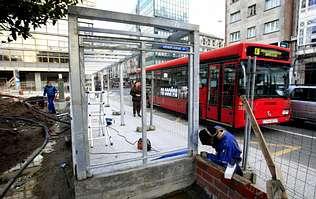 Tranvías sumará el lunes otro autobús a la línea 23 debido a la afluencia de viajeros