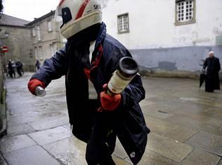 Ocho independentistas detenidos por los incidentes en la manifestación de Galicia Bilingüe