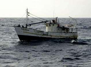 Apresado un barco con cinco toneladas de coca propiedad de un clan de Barbanza