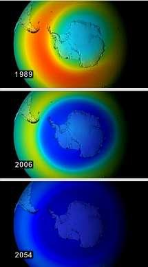 La NASA se�ala que las medidas para conservar la capa de ozono evitaron el desastre en la Tierra