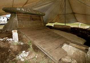 La edificación de Dombate se frena por el relevo en la Xunta de Galicia