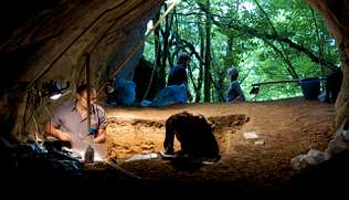 Del neandertal al «Homo sapiens»