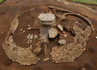 Los arqueólogos descubren que en la Edad de Bronce se levantó un poblado junto a Dombate