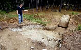 Las excavaciones en el castro de Neixón desvelan un enorme foso