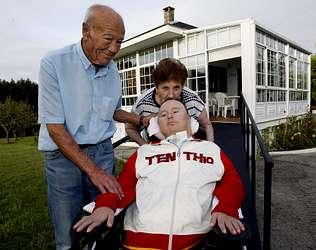Tetraplejico con sindrome de Down