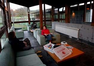 El albergue de peregrinos de Lalín duplicó sus usuarios en este año