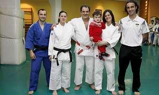Una familia cinturón negro