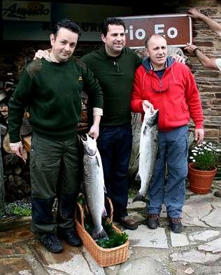 Capturas de salmón en Asturias temporada 2010 (8 Mayo)