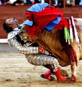 El torero Julio Aparicio está fuera de peligro