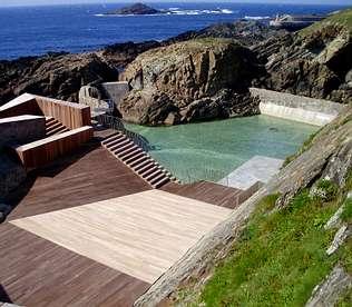 Tapia de casariego inaugur la primera piscina de agua salada - Piscinas de agua salada ...