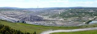 NOVIEMBRE DEL 2006. La mina se agota y se prepara para su conversión en lago Autor de la imagen: | FOTOS: ENDESA