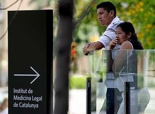 Familiares de las v�ctimas denuncian fallos de seguridad en Castelldefels
