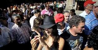 El Año Jacobeo desborda Santiago de Compostela