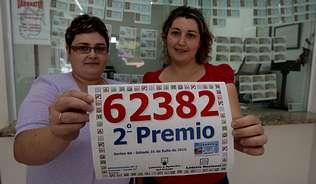 El segundo premio del sorteo de la Loter�a Nacional de ayer dej� 1,2 millones de euros en Viveiro