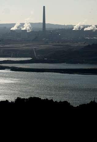 En la imagen, realizada este año, se aprecia el nivel del lago Autor de la imagen: | JOSÉ PARDO