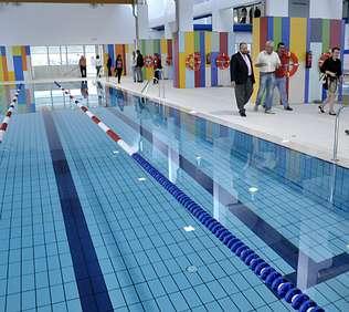 La nueva piscina de Frigsa