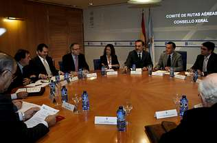 La Xunta reasume la negociaci�n de vuelos al fracasar el comit� de rutas
