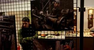 Fotos, artesanía y un taller de cuero