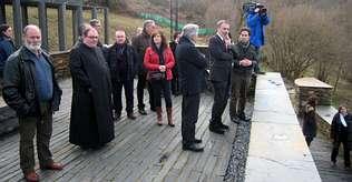Varela cree que la Casa Forte de Lusío será referencia en el Camino Francés