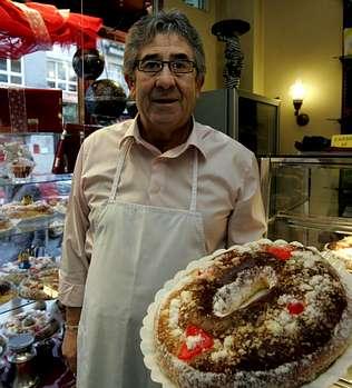 �Calculo que unas 15.000 personas habr�n comido nuestro rosc�n de Reyes�
