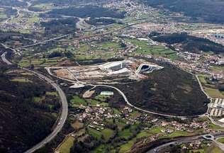 La Cidade da Cultura se abrir� con accesos secundarios por Fonti�as y Sar