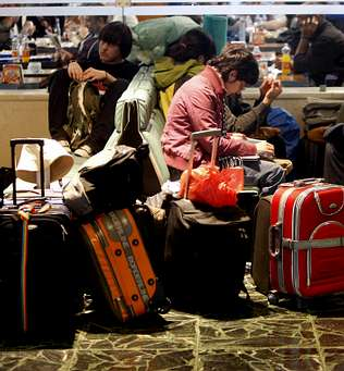 El uso de la red aeroportuaria gallega vuelve a crecer tras dos a�os de ca�da