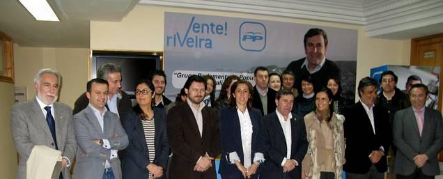 Presentación de la candidatura de Ruiz Rivas