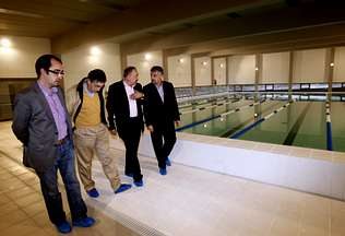 Bri n inaugura la piscina pero no funcionar hasta que for Piscina brion