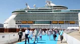 Galicia recibirá  en dos días a  20.000 cruceristas