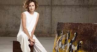 Tiziana Dom�nguez tambi�n pinta