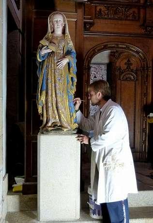 El Consorcio recupera piezas art�sticas de la capilla del Rosario