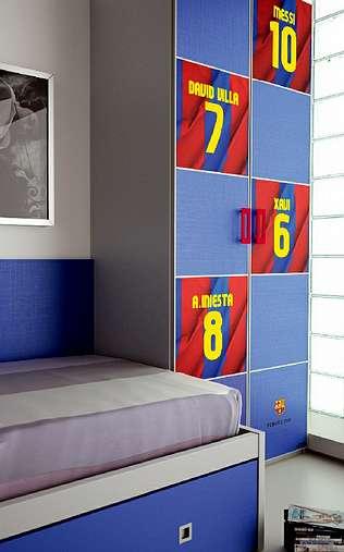 Hermida fabrica muebles con licencia oficial del fc barcelona - Fabrica muebles barcelona ...