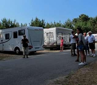 Más de un centenar de caravanas se reunieron el fin de semana en Carnota