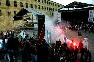 La crisis elimina el Obradoiro como escenario de conciertos