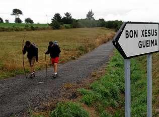 Más de seis mil peregrinos han pasado por Mazaricos este año