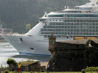 Los cruceros han dejado 9,6 millones en Galicia en el primer semestre del a�o
