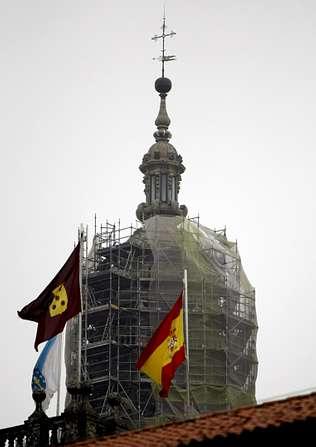 La falta de inversi�n retrasa el plan director de la catedral de Santiago