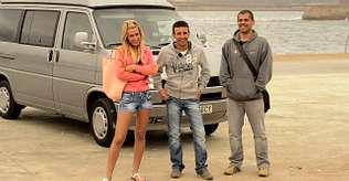 La aventura de los tres �Perdidos  en Galicia� llega hoy a su fin