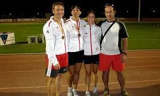 El Atlética A Silva destacó en el torneo nacional de atletismo C21C13F1