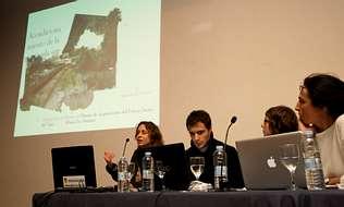 En la foto, los alumnos que elaboraron los proyectos, en la presentación en la Casa Dopeso. josé pardo