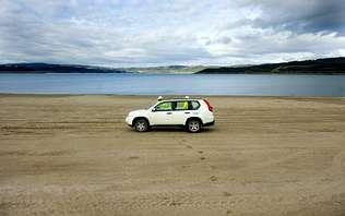 La playa está ubicada en la zona más próxima al pueblo y cuenta también con una amplia zona verde.